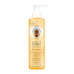 ROGER & GALLET - Bois d'Orange - Lait Sorbet Tonifiant 200ml - Lait tonifiant pour le corps , hygiène corps hyperpara
