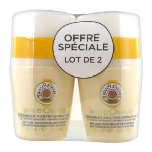 Roger et Gallet Bois d'Orange - Déodorant Anti-Transpirant 48H - DUO soit 2 x 50 ml 3337875561006