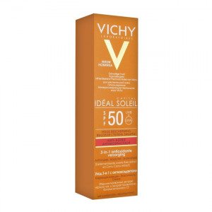 Vichy Capital Idéal Soleil - Anti-Âge Soin Anti-Oxydant 3-en-1 SPF50 - 50 ml 3337875585231