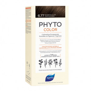 Phyto Phytocolor - 6.77 Marron Clair Cappuccino 3338221002389
