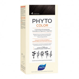 Phyto Phytocolor - 4 Châtain 3338221002549