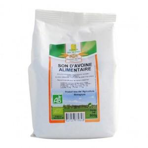 Moulin des Moines Son d'Avoine Alimentaire BIO - 500g Produit issu de l'agriculture biologique Pauvre en sel Riche en fibres 3347437779848