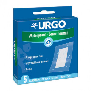Urgo Waterproof - Grand Format - 5 Pansements 3401060094300