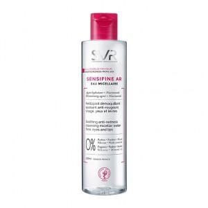 SVR Sensifine AR - Eau Micellaire - 200 ml Peaux sensibles à rougeurs Nettoyant démaquillant Apaisant anti-rougeurs Visage, yeux et lèvres 3401360167902