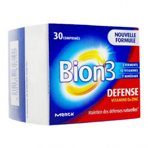 Bion 3 - Defense - 30 Comprimés 3401377618190