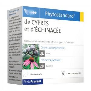 Pileje Phytostandard de Cyprès et d'Échinacée - 30 Comprimés 3401542119699