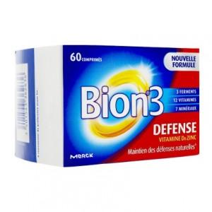 Merck Bion 3 - Defense - 60 Comprimés 3401543362636