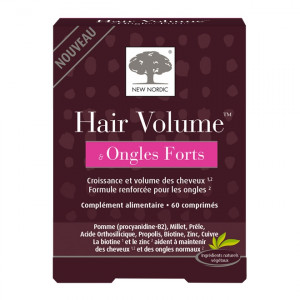 New Nordic Hair Volume & Ongles Forts - 60 Comprimés 3401548184240