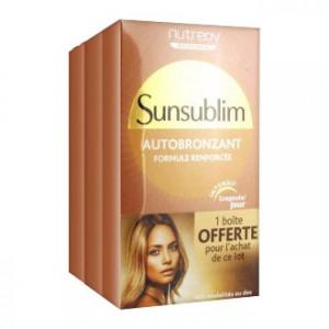 Nutreov Sunsublim - Autobronzant - TRIO 3401551598287