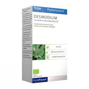 Pileje Phytostandard - Desmodium - 60 Gélules Végétales Desmodium adscendens (Sw.) DC. A base d'extrait de desmodium biologique