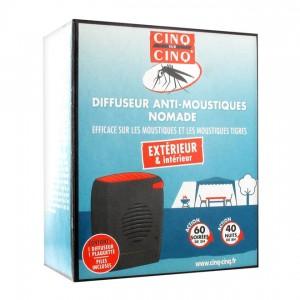 Cinq sur cinq Diffuseur Anti-Moustiques Nomade 3401560207002