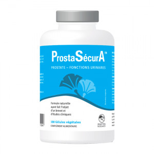Phyto Research ProstaSecurA 180 Gélules Prostate, fonctions urinaires