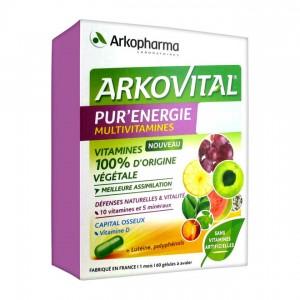 Arkopharma Arkovital - Pur'Énergie Multivitamines Expert - 60 Gélules 3401560277241