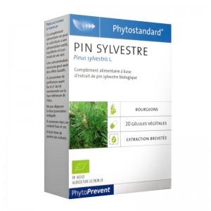 Pileje Phytostandard - Pin Sylvestre - 20 Gélules Végétales Pinus sylvestris L. A base d'extrait de pin sylvestre biologique