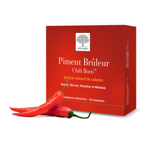 New Nordic Piment Brûleur - 120 Comprimés 3401597709692