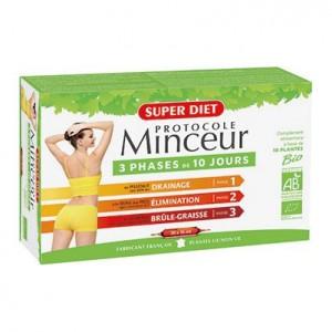 Super Diet Protocole Minceur BIO - 30 Ampoules 3428881240006