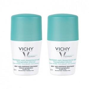 Vichy Déodorant Bille Anti-Transpirant Efficacité 48h DUO 3433425000596