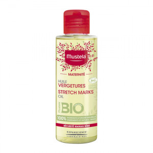 Mustela Maternité - Huile Vergetures - Sans Parfum - BIO - 105 ml 3504105033873