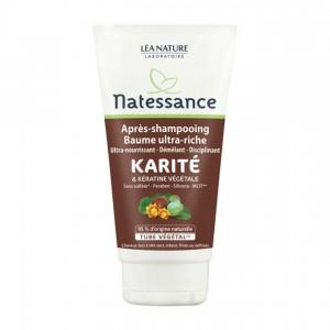Natessance - Après Shampooing Baume Ultra-Riche Karité & Karité Végétale - 150 ml 3517360013528