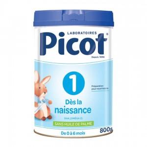 Picot 1 Lait 1er Âge - 0-6 mois - 800gr 3551101545343