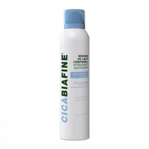 Biafine Cicabiafine - Brume de Lait Corporel Hydratant Quotidien - 200 ml Peaux normales à sèches Hydrate intensément et jusqu'à 24h Pénètre instantanément Facile à appliquer Texture non grasse