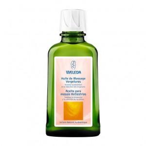 Weleda Huile de Massage Vergetures - 100 ml Favorise la prévention et la réduction des vergetures Peut être utilisée pendant l'allaitement