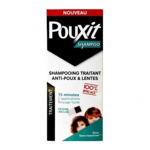 Pouxit Shampoo - Shampooing Traitant Anti-Poux & Lentes - 200 ml