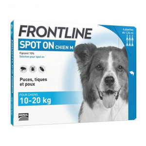 Frontline Spot On Chien M - 6 Pipettes 3661103004134