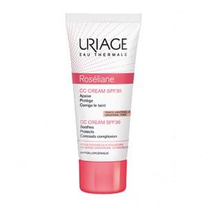 Uriage Roséliane CC Cream SPF30 40 ml Teinte Universelle votre soin beauté visage hydratant, correcteur de teint et protecteur 3661434003417