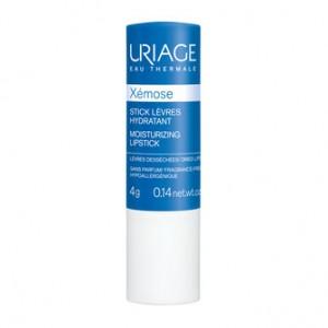 Uriage Xémose - Stick Lèvres Hydratant - 4g Lèvres desséchées et abîmées Sans parfum Hypoallergénique