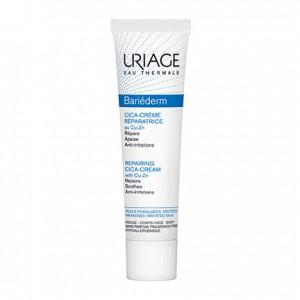 Uriage Bariéderm - Cica-Crème Réparatrice au Cu-Zn - 40 ml Répare Apaise Anti-irritations Peaux fragilisées, irritées Visage et corps 3661434004735