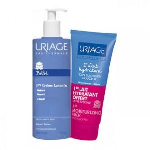 Uriage 1er Crème Lavante - 500 ml + 1er lait hydratant OFFERT 3661434005282