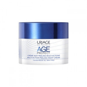 Uriage Age Protect - Crème Nuit Peeling Multi-Actions -50 ml 3661434006456