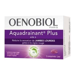 OENOBIOL - Aquadrainant Plus - Aide à réduire la sensation de jambes lourdes - Complément Alimentaire Hyperpara