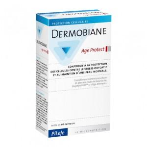 Pileje Dermobiane - Age Protect - 60 Capsules Marines Le zinc contribue au maintien d'une peau normale 3700410500035