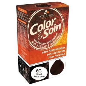 6G Color & Soin Blond Foncé Doré