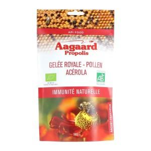 La Source Aagaard Propolis - Gelée Royale - Pollen - Acérola BIO - 200g Immunité naturelle Sachet fraîcheur 3760046254276