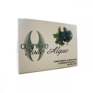 Oemine Iode Algue - 60 Gélules Apport d'iode organique d'algues marines