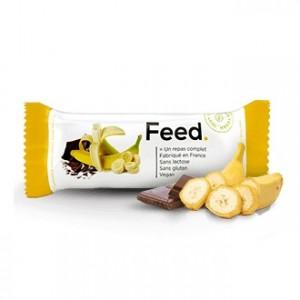 FEED Barre Banane - Chocolat - 1 Barre 3770007832245
