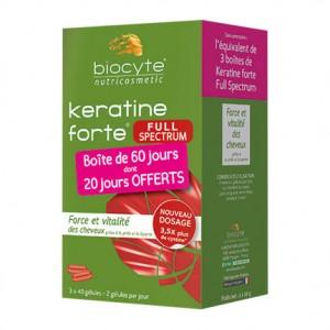 Biocyte Keratine Forte Full Spectrum - 120 Gélules 3770008244078