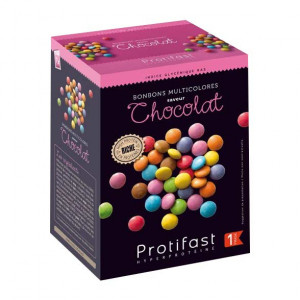 Protifast Bonbons Multicolores Saveur Chocolat - 7 Sachets - Phase Active 1 3770008383241