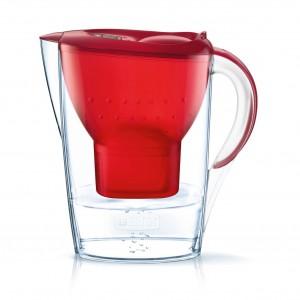 Brita Marella Basic - Rouge + 1 Cartouche Maxtra+ - 2.4 L 4006387076658