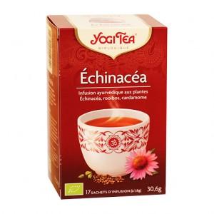 Yogi Tea Echinacea - 17 Sachets Tisane ayurvédique L'organisme lutte chaque jour contre les influences indésirables de... 4012824401525