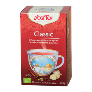 Yogi Tea Classic - 17 Sachets Infusion Classic à la canelle 4012824402553