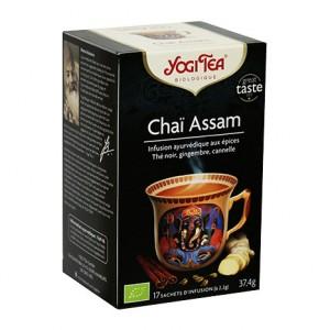 Yogi Tea Chaï Assam 17 sachets d'infusion Magique, puissant, revigorant 4012824402621