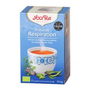 Yogi Tea Profonde Respiration - 17 Sachets Tisane ayurvédique Le prana 4012824402669