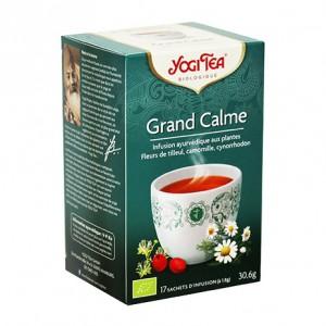 Yogi Tea Grand Calme - 17 Sachets Tisanes ayurvédique 4012824402690