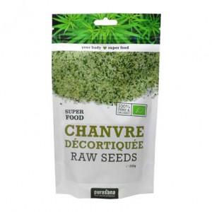 Purasana Super Food - Chanvre Décortiquée Raw Seeds - 200g 100% pure et biologique Convient aux végétariens 5400706613323