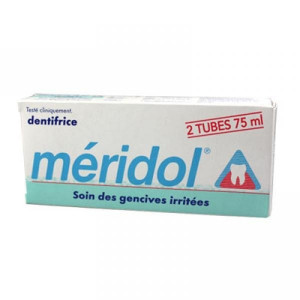 Dentifrice Méridol Protection gencives Lot de 2
