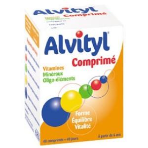 Alvityl Comprimés 40 Comprimés